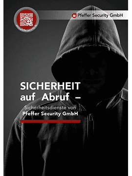 Pfeffer Security Flyer 2018 Sicherheitsdienste